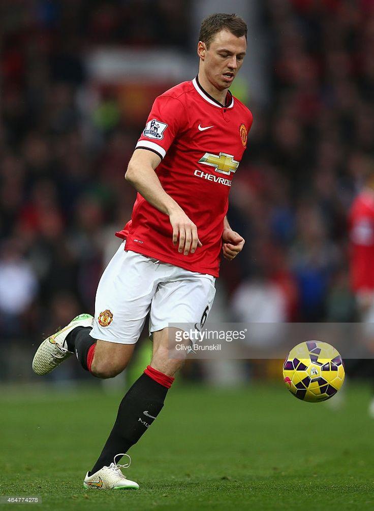 Jonny Evans of Manchester United in action