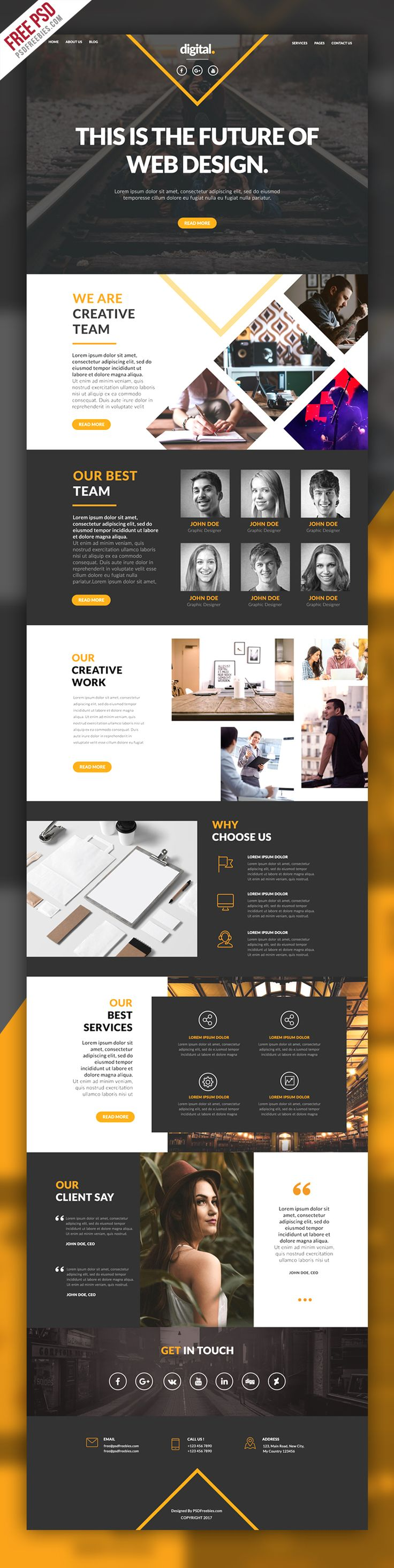 45 best Free Web Templates images on Pinterest | Free web ...