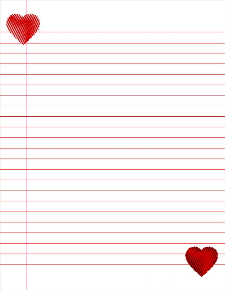 Free Lined Paper For Kids Kindergarten Hand Writing Lined Paper