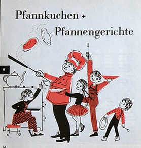 German pancake illustration