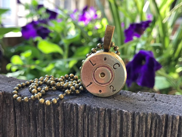 A personal favorite from my Etsy shop https://www.etsy.com/listing/526225354/50-caliber-bullet-shell-jewelry-gun