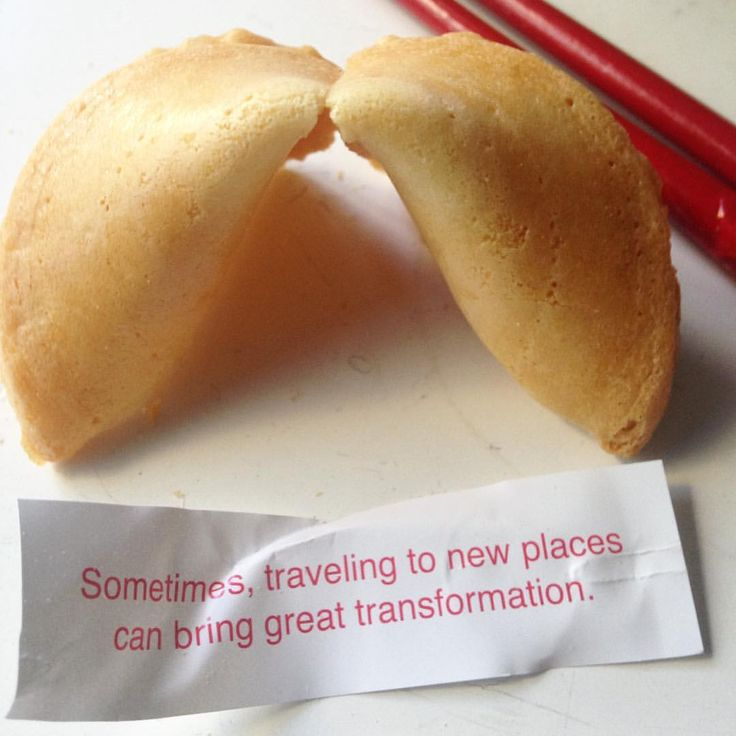 Joy House Productions — My first fortune #cookie for #ChineseNewYear ! -...