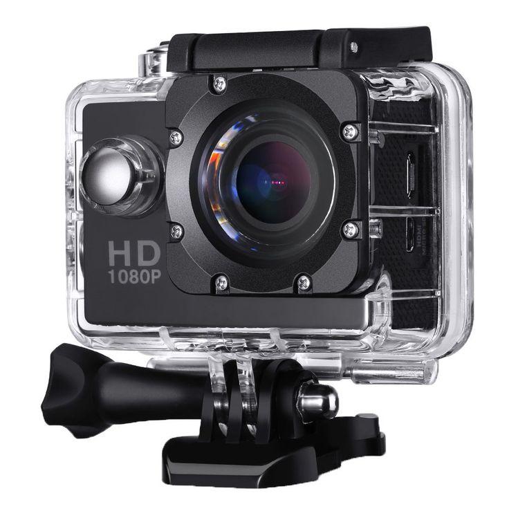 2,0 Zoll Action Kamera, VicTsing Sports Action Camera 12MP Full HD 1080p Action Cam Wasserdichte Action Kamera Helmkamera mit Zubehör Kits