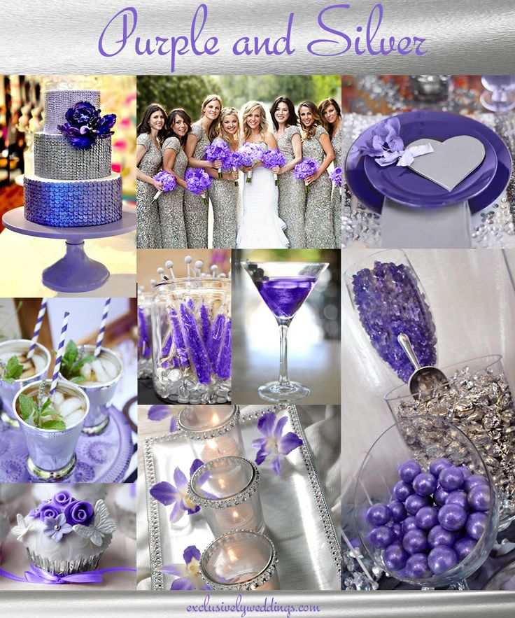 Colors Combinations: 25+ Best Ideas About Purple Silver Wedding On Pinterest