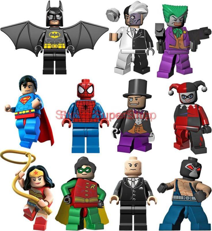 Lego Batman 11 Characters Decal Removable Wall Sticker Home Decor Art Robin | eBay