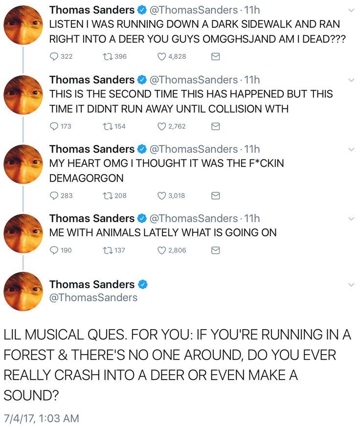 Twitter Part 1. Thomas Sanders
