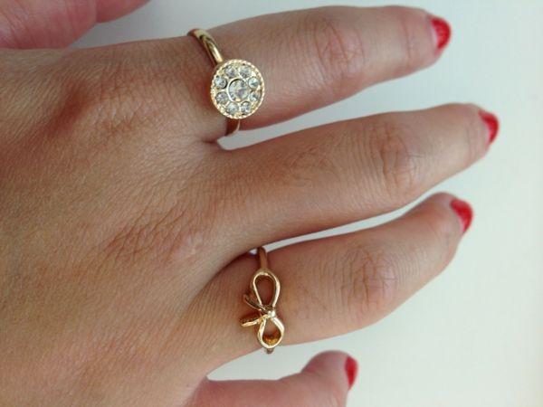 damenringe gold ring schmuck modeschmuck ring