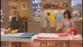 Martha Stewart and Rosemarie DeWitt dye cotton to make ombre scarves.