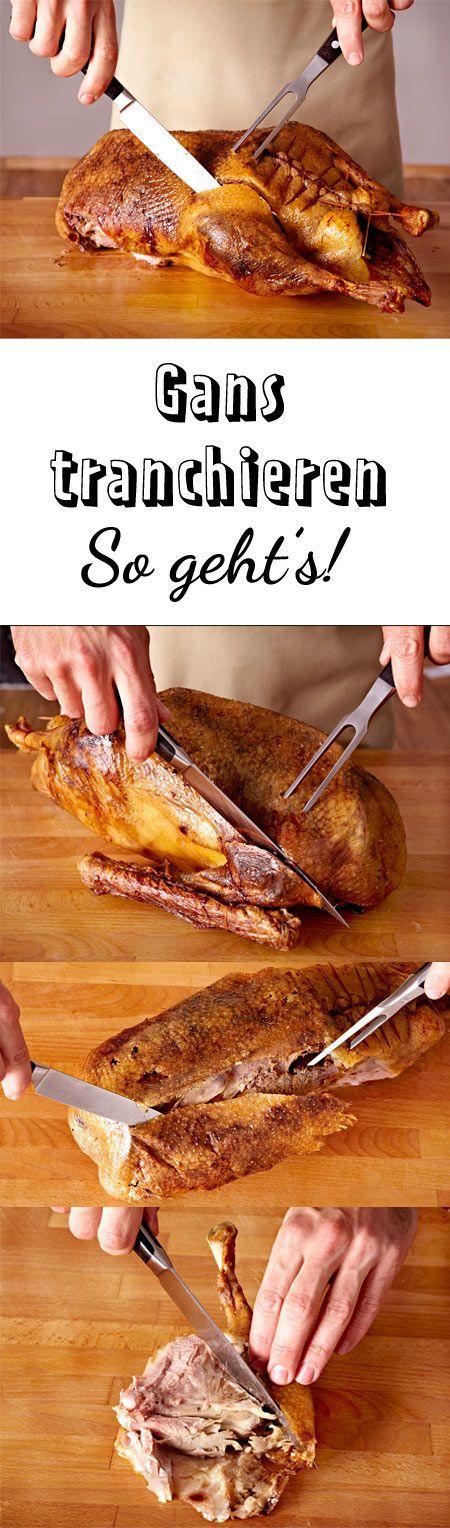 Mit unserer Anleitung ist das Tranchieren der #Weihnachtsgans kein Problem! #Gans