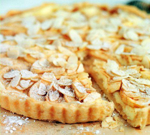 Bavarian Apple-Almond Torte Recipe - http://www.allbakingrecipes.com/recipes/bavarian-apple-almond-torte-recipe/