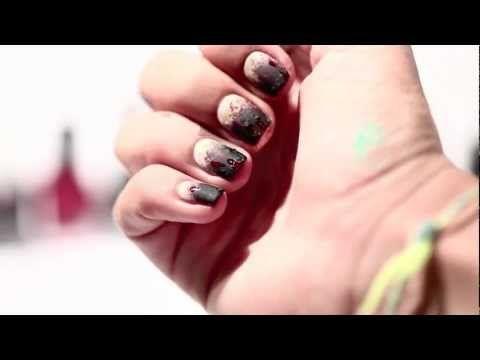 zombie nails tutorial