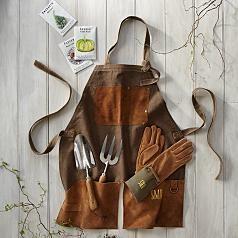 english-style garden apron