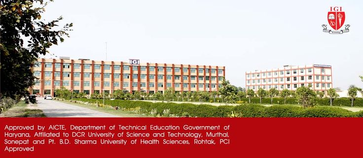 IGI univesity is the one of  the BestEngineering Colleges in Sonepat. They provide degree in  courseS like Btech, Mtech,BBA and  B.Pharmacy. For more information visit our website http://www.igi.edu.in