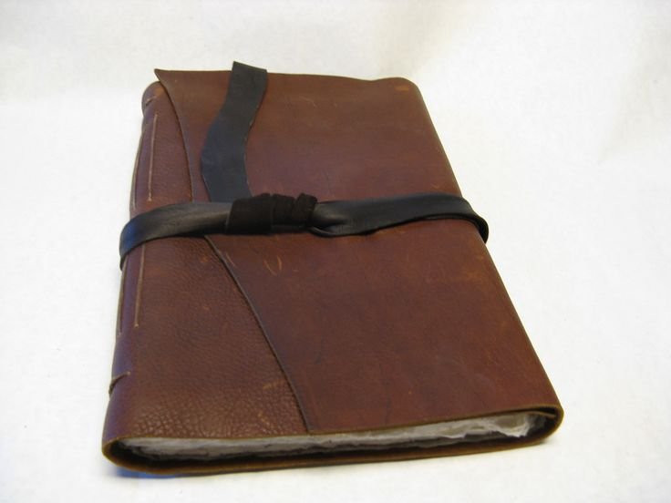 leather sketchbook