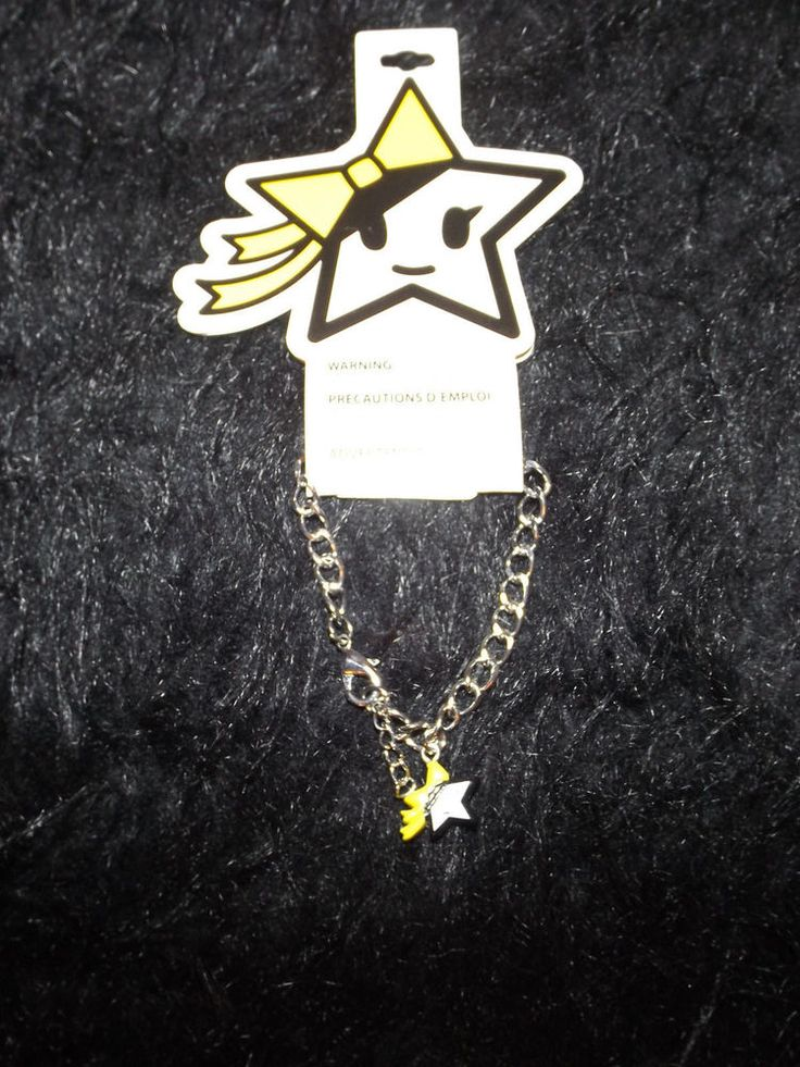 new Neon Star  silver tone star bracelet fashion jewelry tokidoki Kawaii #neonstar #Chain
