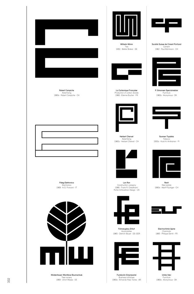 Logo Modernism, a newTaschenbook out next month by German graphic designerJens Müller, is a brilliant catalogue of 6,000 trademarks from 1940–1980 that