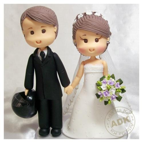 Muñecos tarta de boda