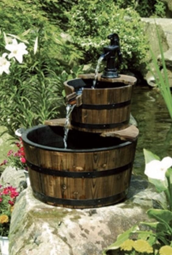 Whiskey outdoors and water on pinterest for Garden water pump