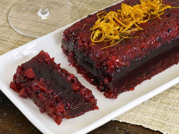 The 25 best food network thanksgiving ideas on pinterest food cranberry pomegranate terrine recipe from food network kitchen via food network forumfinder Choice Image