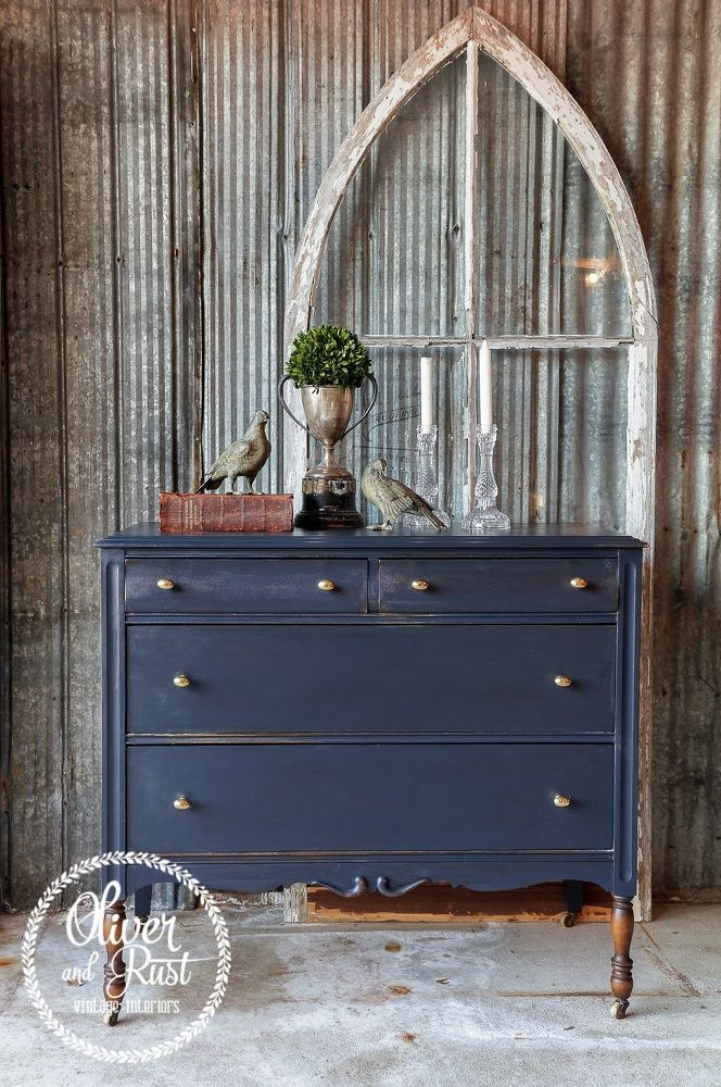 Color of the Week - General Finishes Coastal Blue Milk Paint