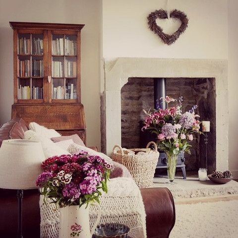 modern country home interiors for autumn winter