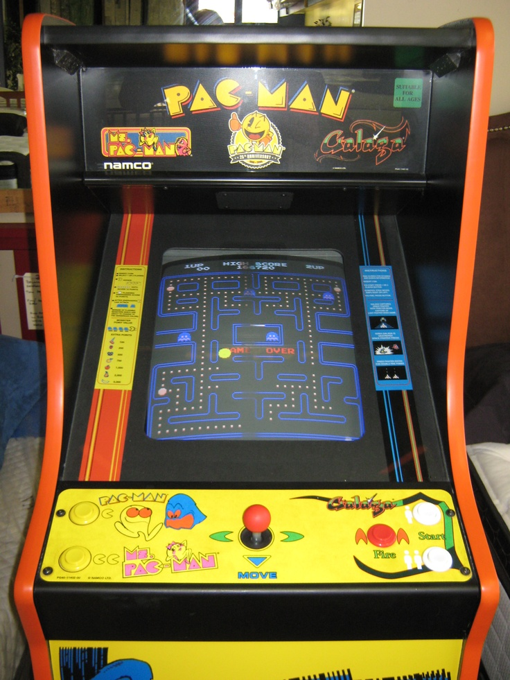 1,750 25th Anniversary Pacman full size arcade game