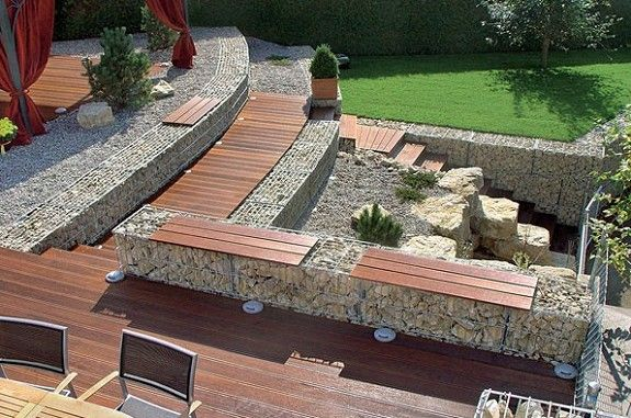 175 best Jardin images on Pinterest Garden deco, Landscaping and - Couler Une Dalle Beton Exterieur