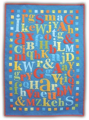 Quilt Inspiration: ABC's of Quilting (Alphabet Quilts)
