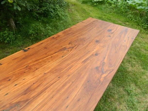 Relcaimed Cherry Wood Table Top By Antique Woodworks