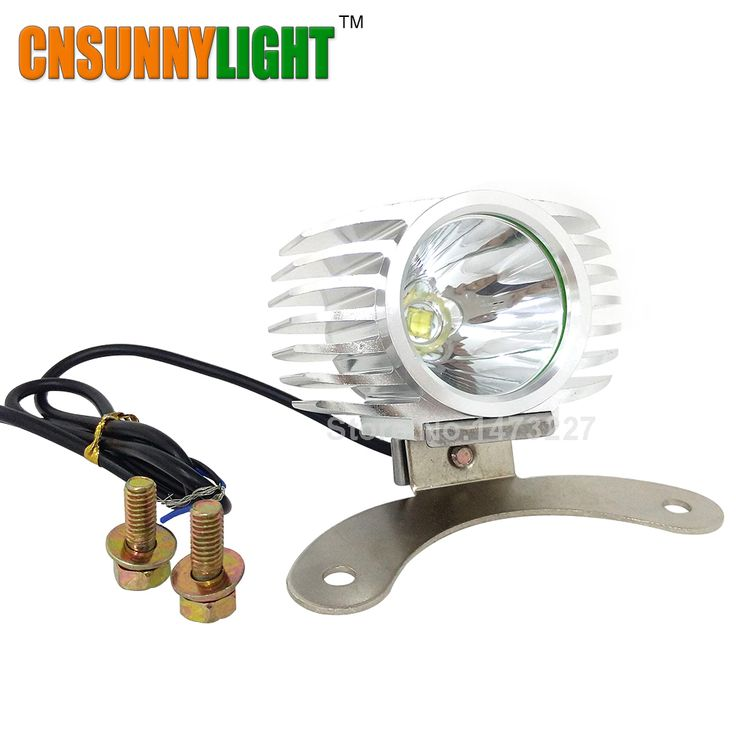 CNSUNNYLIGHT Led External Headlight Outdoor 15W 1800LM 12V 24V Headlamp Spotlight CarsTrucks Motorcycle Driving Fog DRL Lights