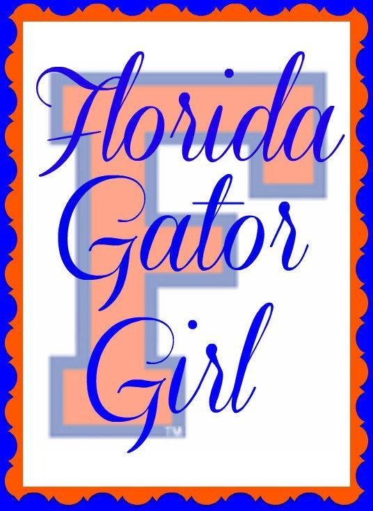 Florida Gator Girl Gator Girl Florida Gators Florida Gators