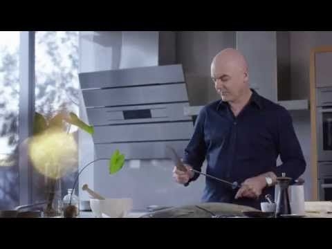 AEG Ambassador Mark Best cooking Confit Ocean Trout.   Head over to 'Our AEG Products' board to see the range at L & M Gold Star (2584 Gold Coast Highway, Mermaid Beach, QLD).