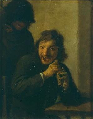 The Flutist by Adriaen Brouwer
