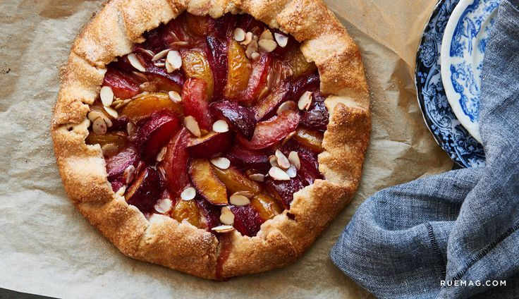 Pamela Salzman Shares her Recipe for a Plum Almond Galette   Rue