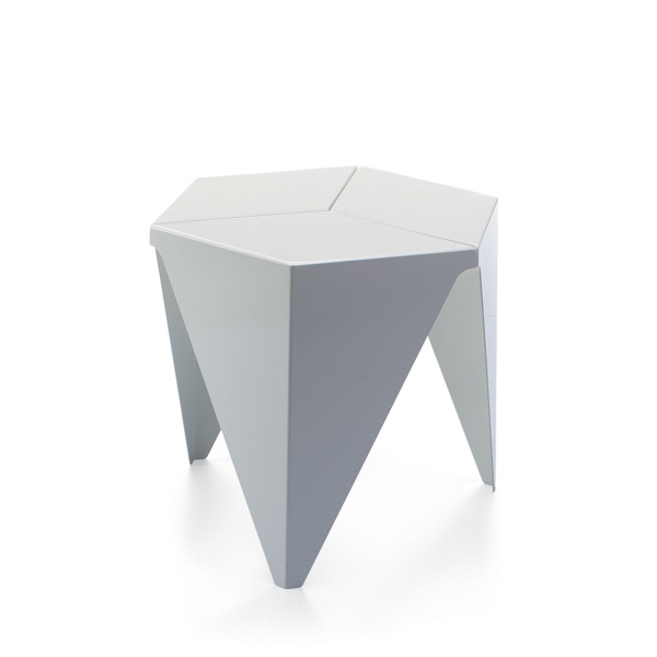 PRISMATIC SIDE TABLE BY ISAMU NOGUCHI (WHITE)