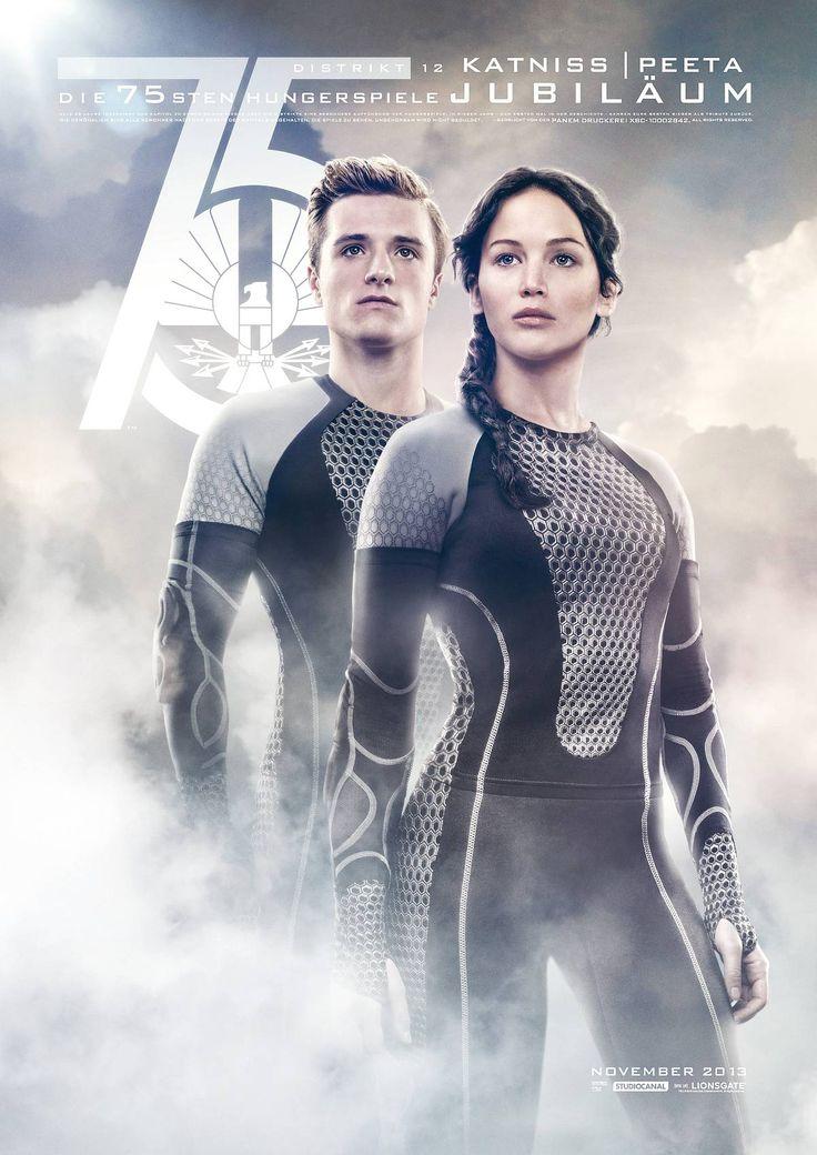 DIE TRIBUTE VON PANEM - CATCHING FIRE Katniss (Jennifer Lawrence), Peeta (Josh Hutcherson)