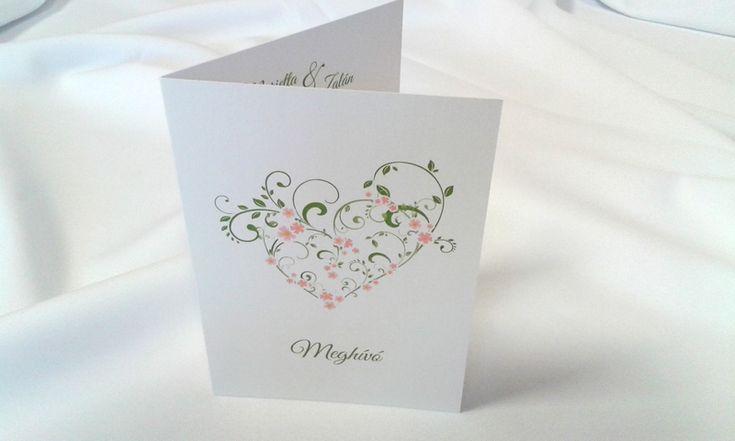 egyedi grafikus esküvői meghívó 064.1