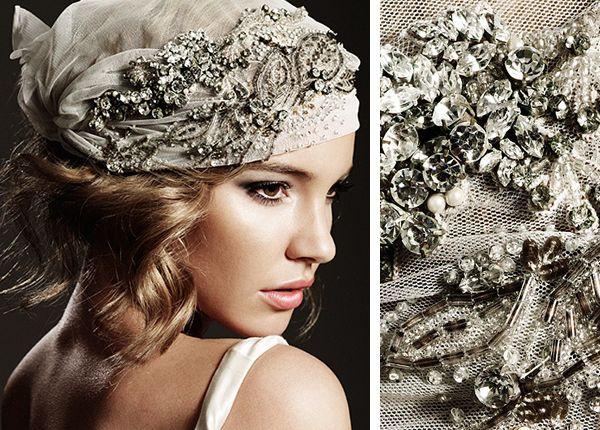wedding headpieces glamorous bridal headpieces from johanna johnson chic wedding