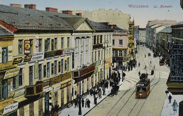 Warsaw, Nalewki Street.