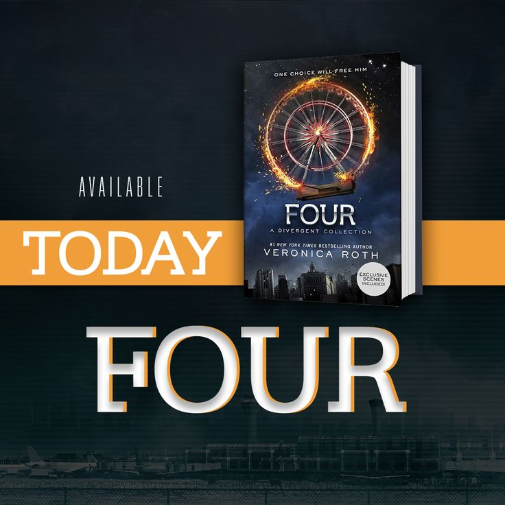 Same Four. Different stories. Yes please.