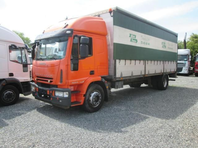 Iveco 180E25, Truck Flatbed + tarpaulin in Rakovník, used buy on AutoScout24 Trucks