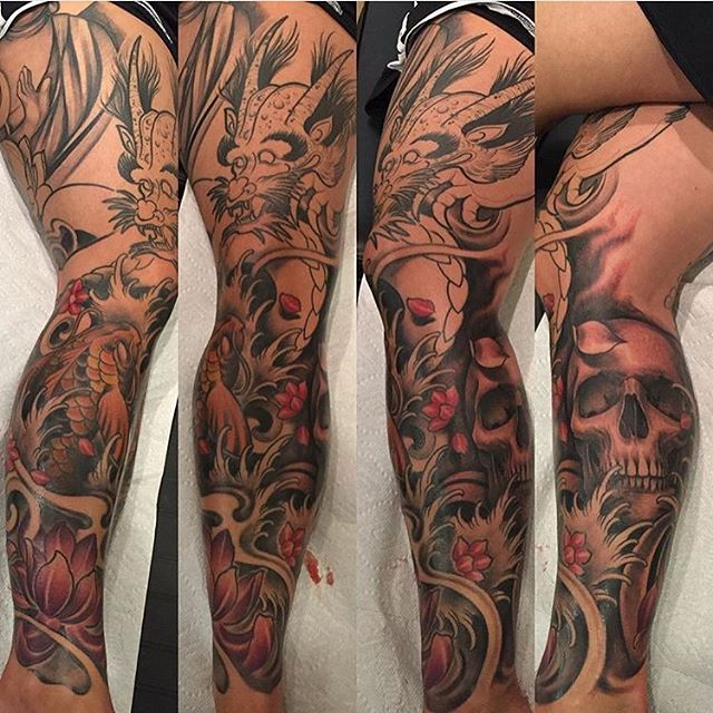 15 best images about tattoos by alex deschenes on for Blackwork tattoo artists