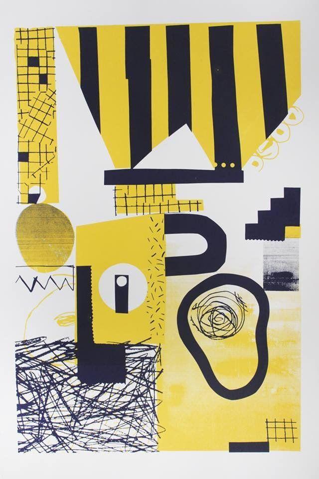 garadinervi — Atelier Bingo, poster for KRAFT Festival, Nantes,...
