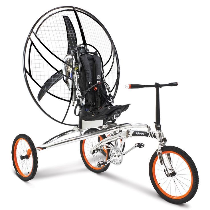 The First Flying Bicycle - Hammacher Schlemmer