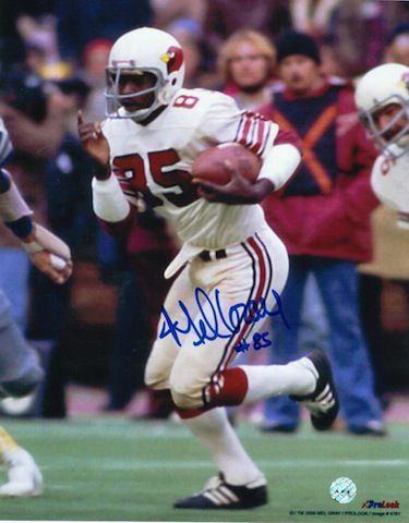 Autographed Mel Gray St. Louis Cardinals (Football) 8x10 Photo