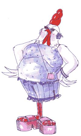 Rubber Stamps Chic Chick