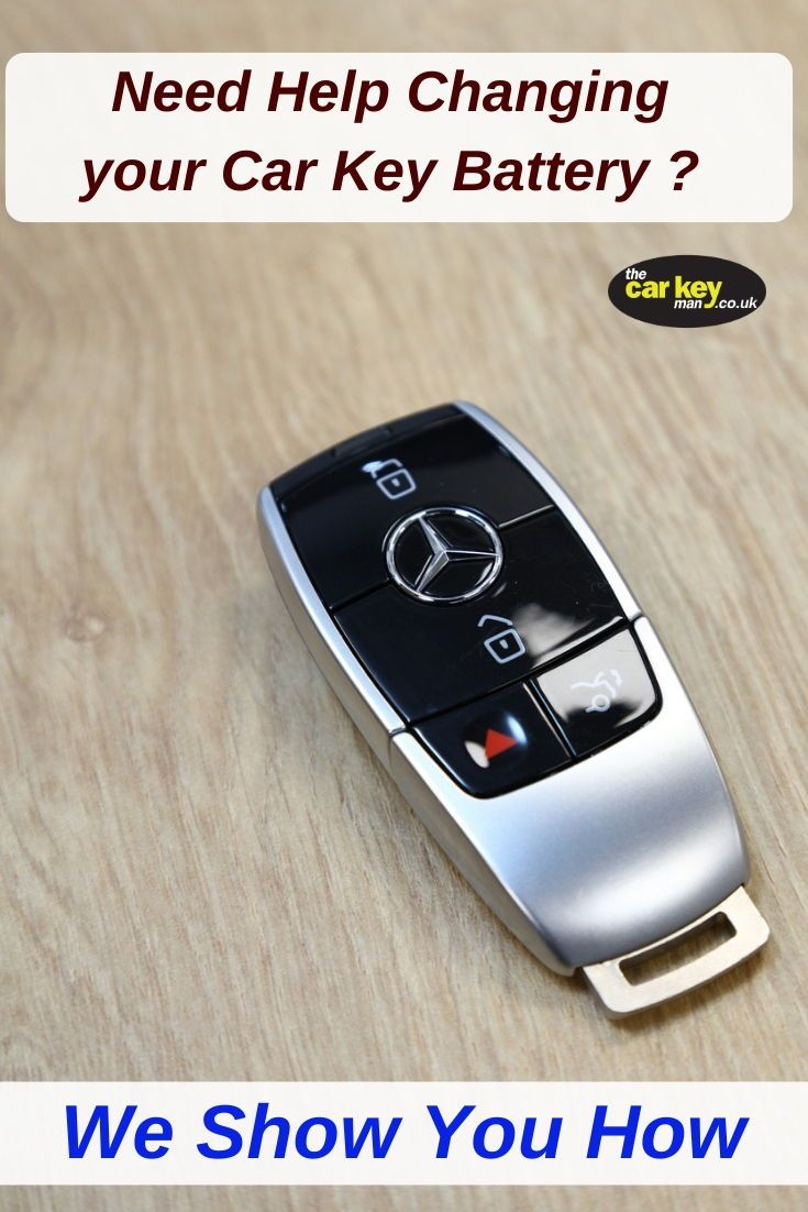 Mercedes E Class Keyless Battery Change Car Key Repair Spare Car Key Car Care