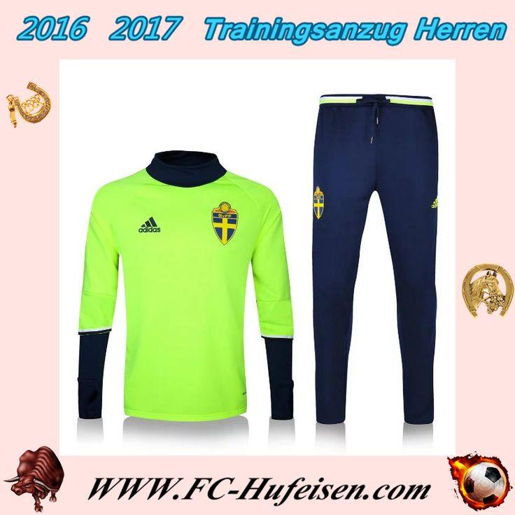 Schönsten Trainingsanzüge Fussball Herren Kits Wildleder Grün Saison 2016 2017 Discount Outlet Online
