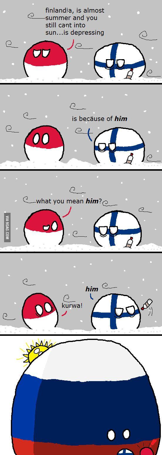Suomi mainittu