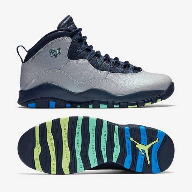 Nike Air Jordan 7 Bleu Français - Remasterisé Bordeciel